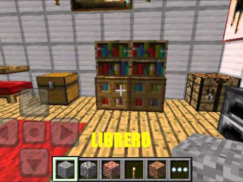 TIPS & TRUCOS DE MINECRAFT PE // DECORACIONES Y MUEBLES - YouTube