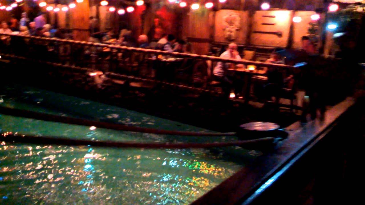 Quick dip in the Tonga Room Pool