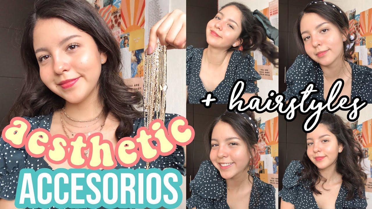 Haul accesorios aesthetic✨ de Nihaojewelry.com (+ peinados aesthetic;)