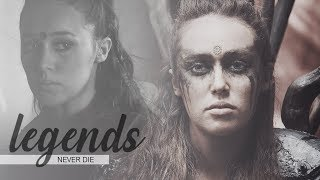 ► lexa kom trikru | legends never die