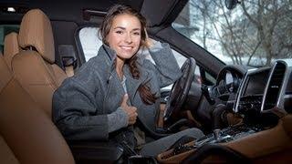 Телеведущая Ирена Понарошку познакомилась с мужем, не выходя из машины
