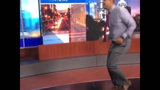 Just try not to smile when you watch this Atlanta anchor dance