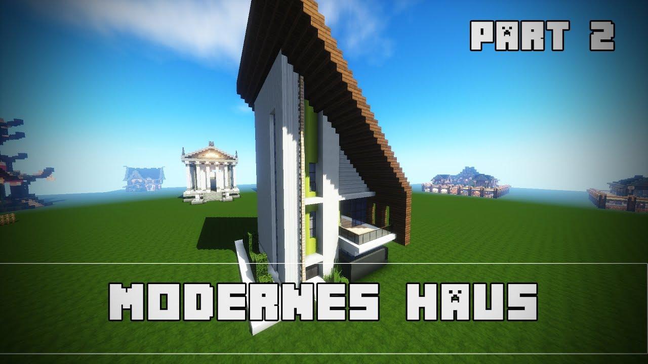 Kleines modernes haus bauen minecraft tutorial einfach for Minecraft modernes haus tutorial