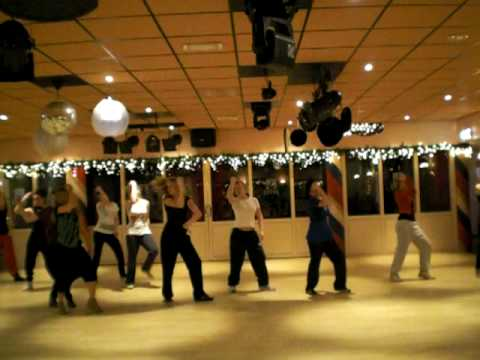 Training streetstyle Dansschool Erik Hardenberg