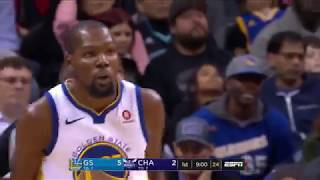 Kevin Durant Notches Triple-Double in Warriors