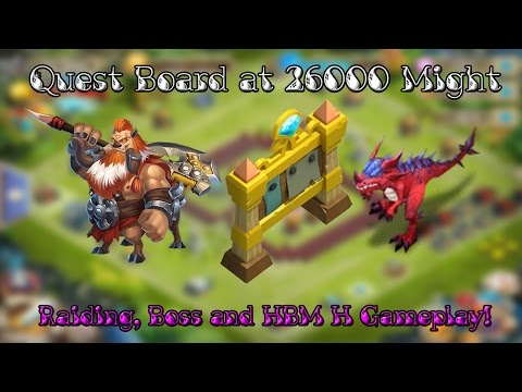 Castle Clash Quest Board At 26K Might