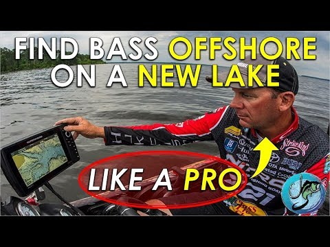 How To Find Bass Offshore On New Lakes | Locating Bass Offshore