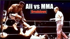 When Ali Tried MMA  - Muhammad Ali vs Antonio Inoki Fight Breakdown