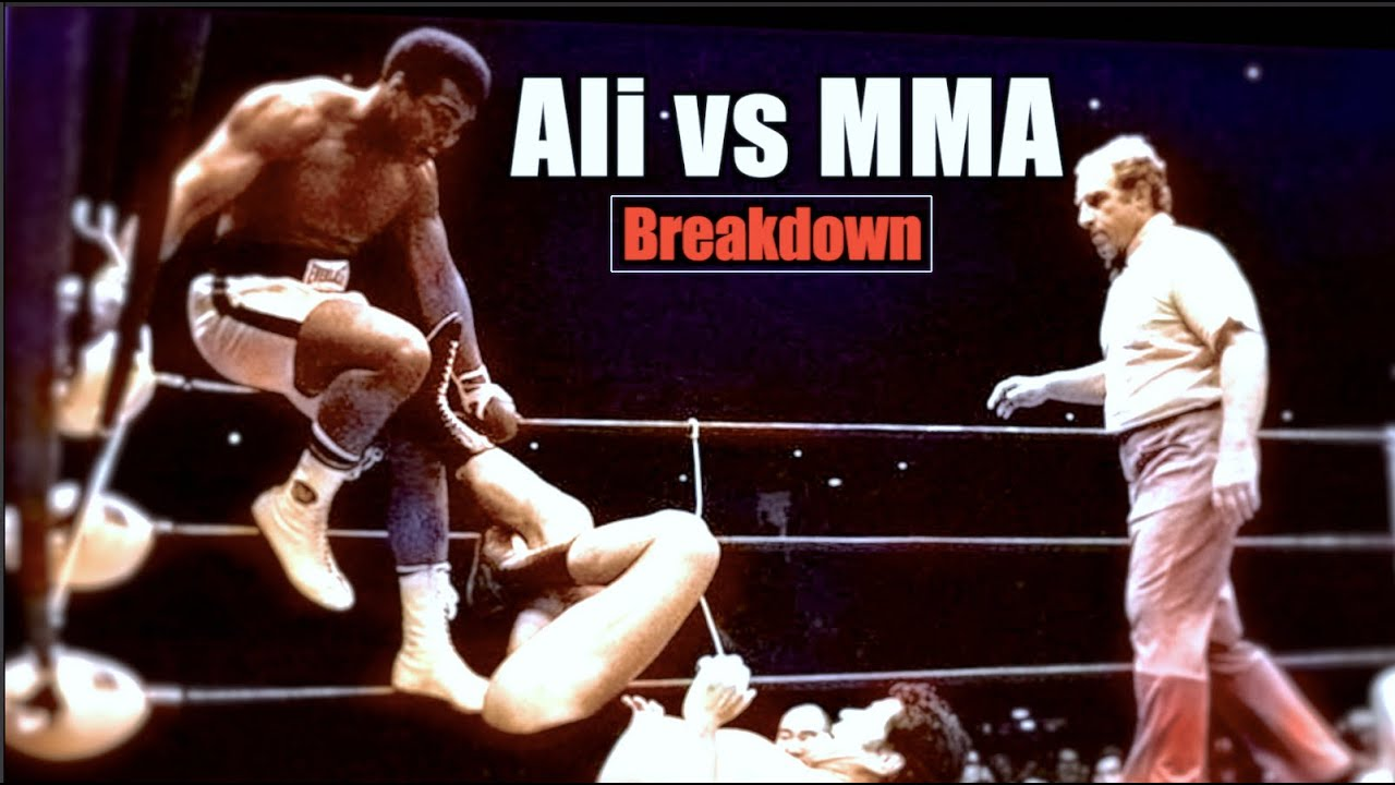 When ali tried mma muhammad ali vs antonio inoki fight breakdown