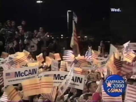 McCain Campaign Speech (2000)