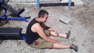 Несокрушимый воин тренировка для новичков для похудения и общей физ подготовки