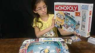 Despicable Me 2 Monopoly Game - KidToyTesters