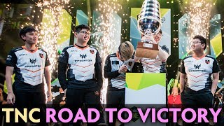 TNC road to victory — MOST MEMORABLE PLAYS on ESL Hamburg 2019