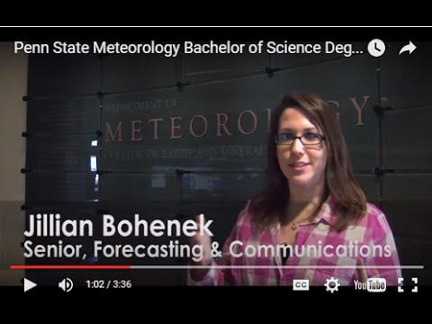 Penn State Meteorology Bachelor of Science Degree