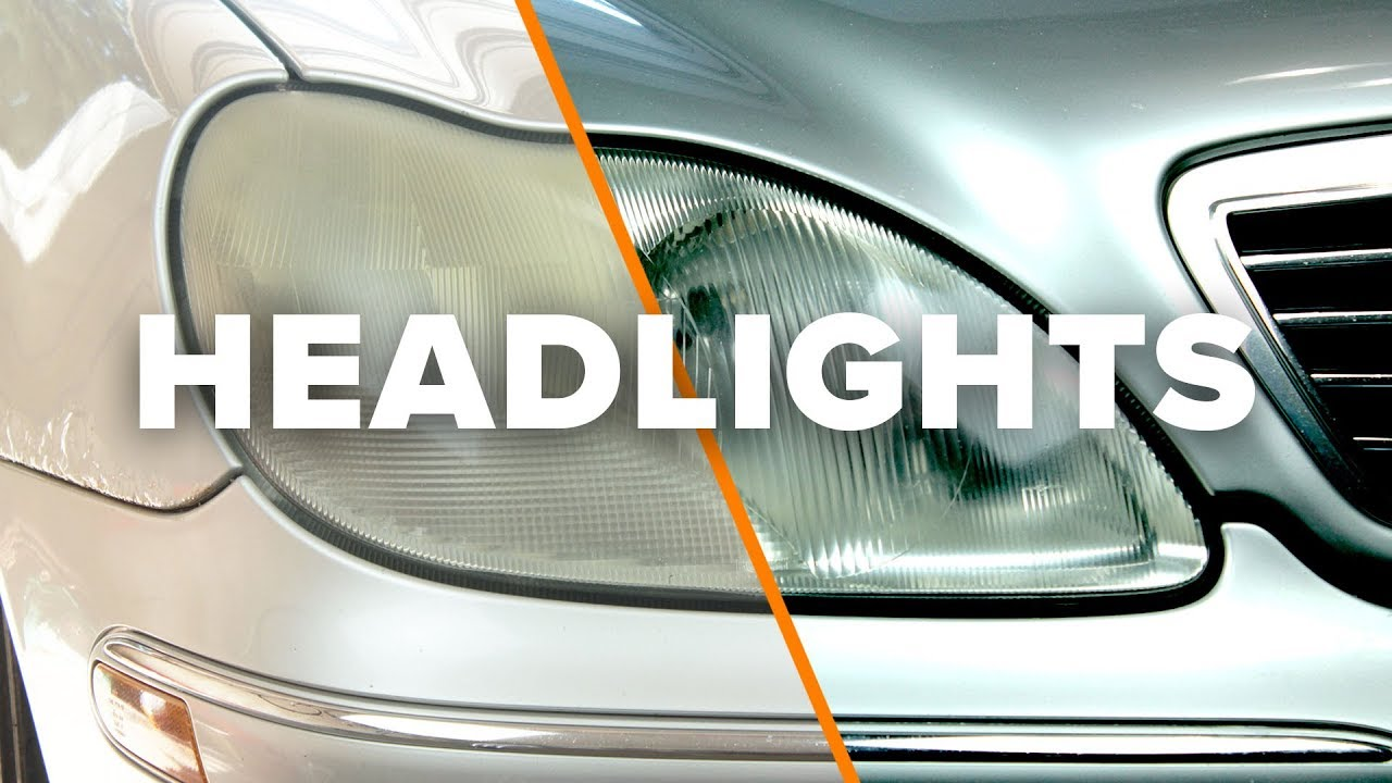 hight resolution of how to restore faded headlights