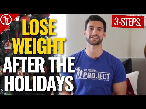 How To Lose Weight After The Holidays | 3-Steps To Get Back On Track Fast!