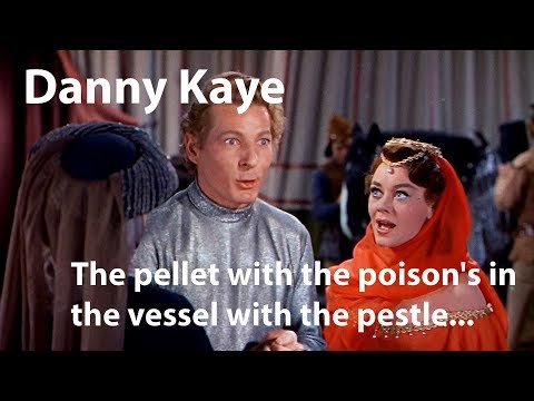 Danny Kaye - 'The pellet with the poison's in the vessel with the pestle' - The Court Jester (1955)