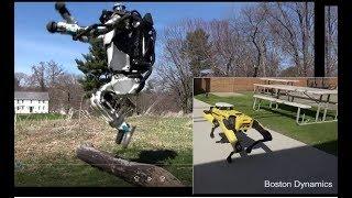 Latest running Atlas and SpotMini by Boston Dynamics