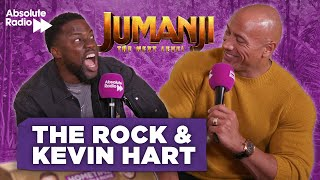 "Dwayne Johnson & Kevin Hart  ""The Rock was SH*T"" Jumanji: The Next Level"