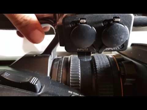Conectar Microfono En Camara 4k FDR-AX1  Professional EN ESPAÑOL