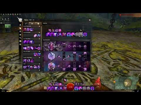 Guild Wars 2 - Dec 2017 My Mesmer Condition Mirage