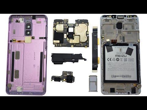 Разбираем смартфон Meizu M8 Teardown