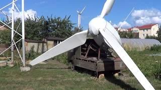 Ветрогенератор, небольшой обзор
