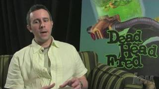 Dead Head Fred Sony PSP Interview - Video Interview