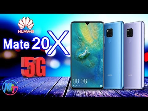 Huawei Mate 20 X (5G) - Official Look!!!