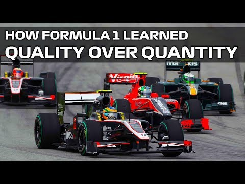 How F1 Learned That Quality Is Better Than Quantity