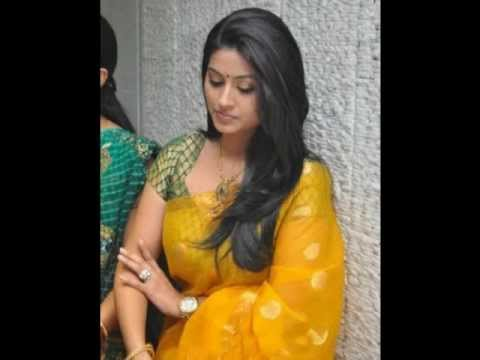 Sneha Actress Hot Scene In Saree