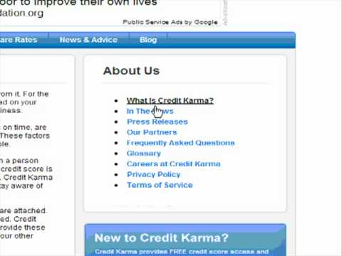 Credit Karma Review Free Credit report monitor - YouTube