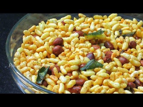 Easy Chatpata Tea Time Snack Recipe/Namkeen Murmura Recipe - Spicy Murmura Recipe In Hindi