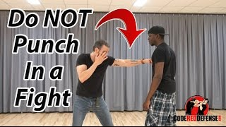 Do Not Punch in a Street Fight - Video Reply