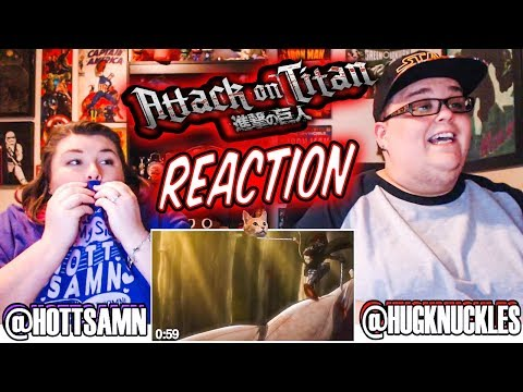 Attack on Titan Season 1 Episode 22 (1x22) REACTION!!