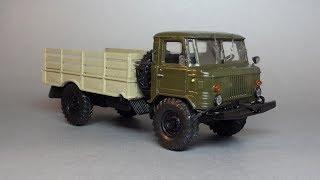 ГАЗ-66 «Шишига»   Русская миниатюра   Советские коллекционные масштабные модели 1:43