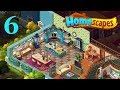 HomeScapes Gameplay Story Kitchen Day 6 / Кухня День 6