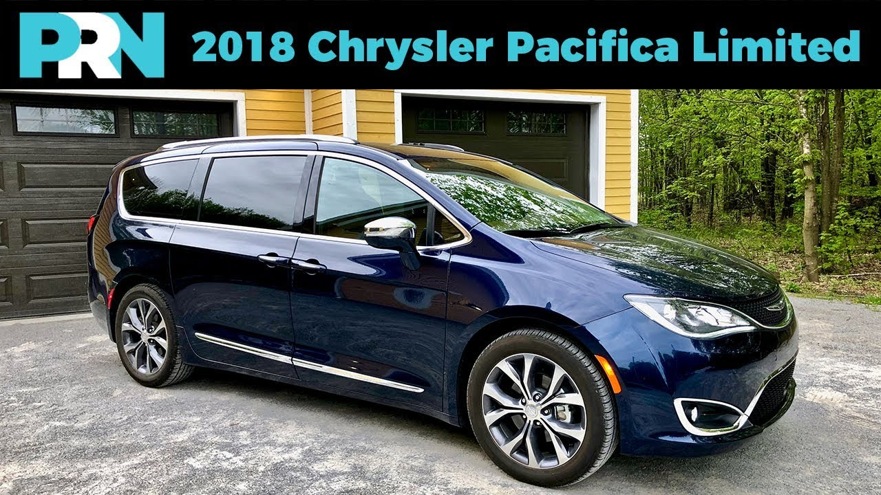 2018 Chrysler Pacifica Limited Testdrive Spotlight