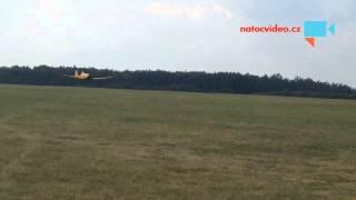 Vzlet letounu Dromader