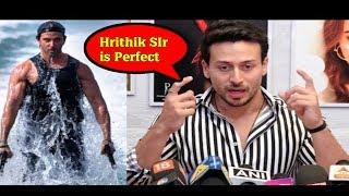 Tiger Shroff TERMS Hrithik Roshan Perfectionist| Tiger VS Hrithik