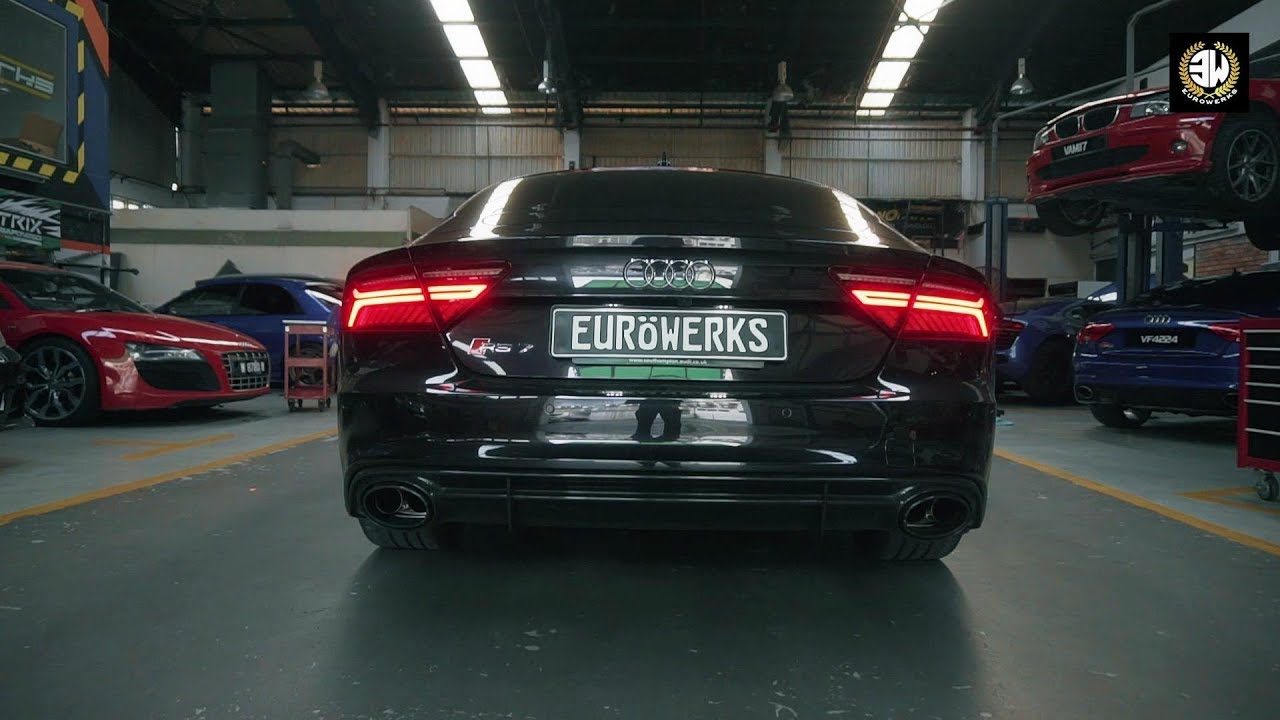 Audi Rs7 Sportback V8 Scream W Armytrix Cat Back Exhaust By