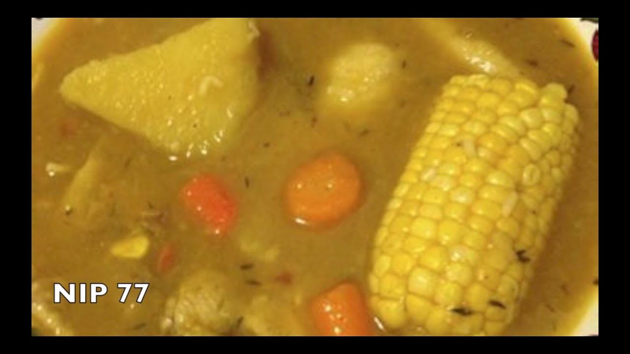 My Jamaican Style Chicken Soup Youtube