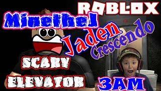 Roblox 3 epico stile Horror ascensore non Kid del giocatore MinetheJ Jaden Crescendo parolacce Kid Friendly