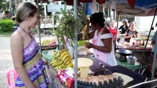 Тайланд. Как приготовить блины с бананами(Мое забавное видео! http://anfisabreus.com., 2012-01-15T03:43:52.000Z)