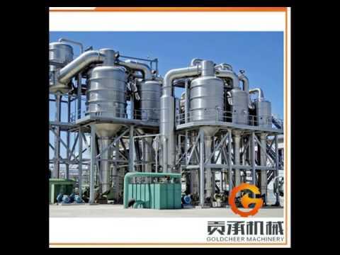 Shanghai Fresh Milk Vacuum falling film evaporator
