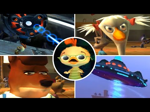 Download Chicken Little All Bosses & All Chases (Gamecube, PS2)