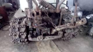 Исправление растянутой гусеницы без особых затрат трактор т 74