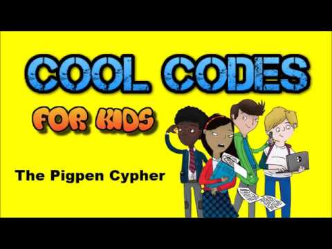 Cool Codes for Kids: The Pigpen Cypher Mp3