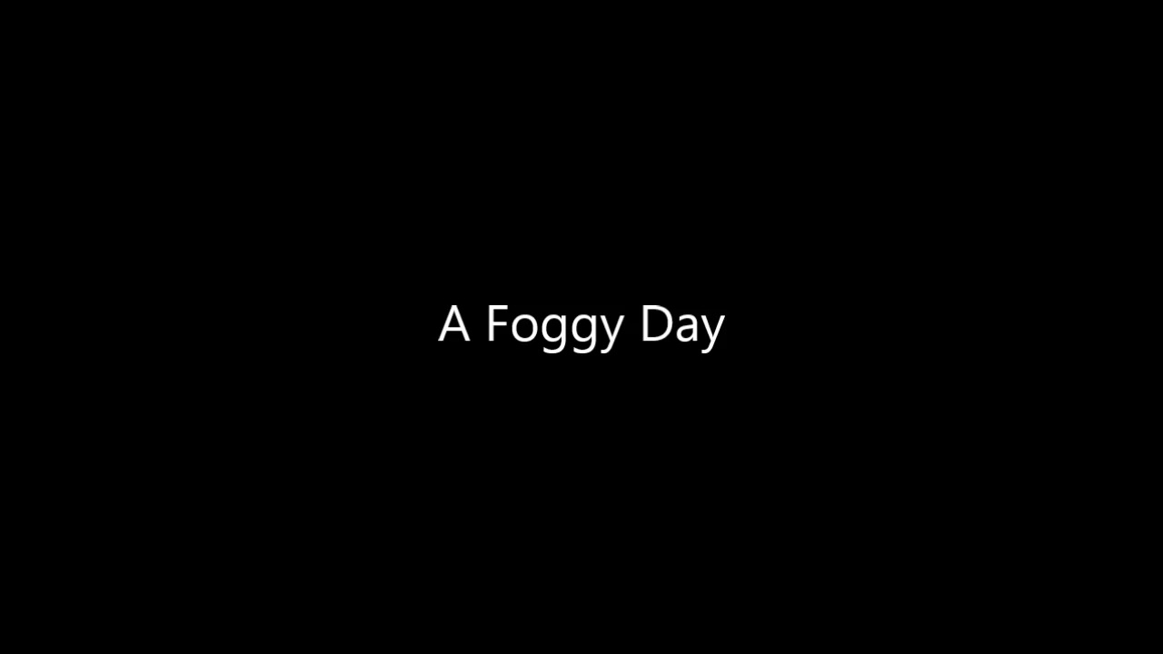 Jazz Backing Track - A Foggy Day