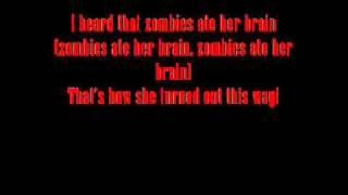 Zombies Ate Her brain Lyrics-Creepshow